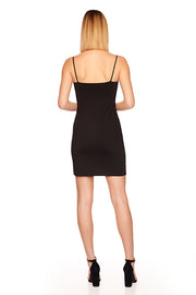 thin strap slip dress