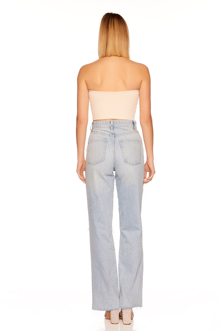 essential crop tube top