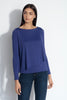 long sleeve angled layer top 9""