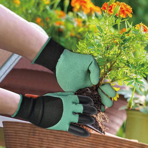 Protective Digging Gloves - Specially Made For Gardening - 50% OFF