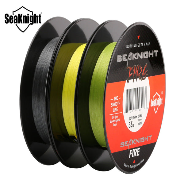 SeaKnight 150M Fishing Fire Line Smooth PE