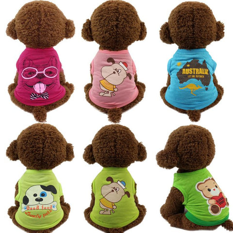 Puppy Shirts for Small Pets