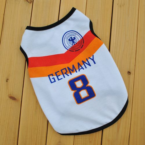 2018 World Cup dog clothes