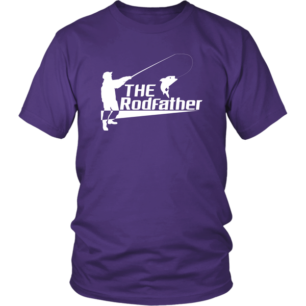 The Rodfather fishing tees