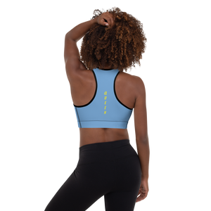 Melanin Hustle Padded Sports Bra