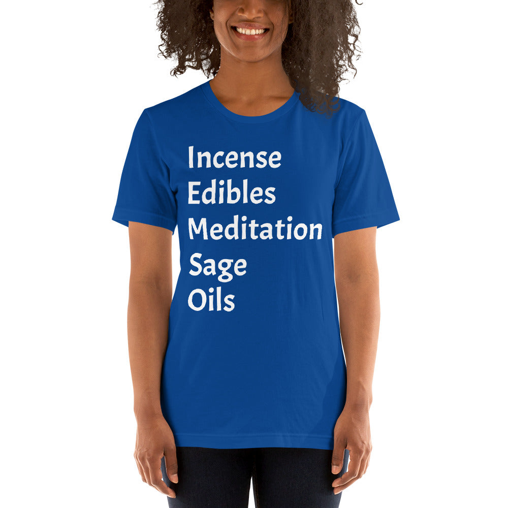 Incense & More Short-Sleeve Unisex T-Shirt