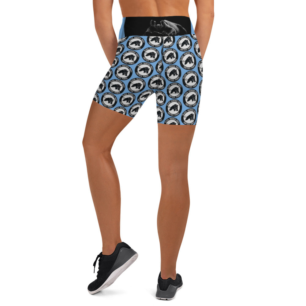 Black Panther Freedom Yoga Shorts