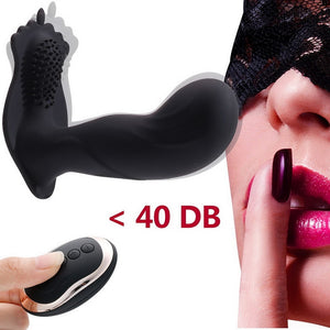 Silicone Wireless Remote Smooth Vibes Toy