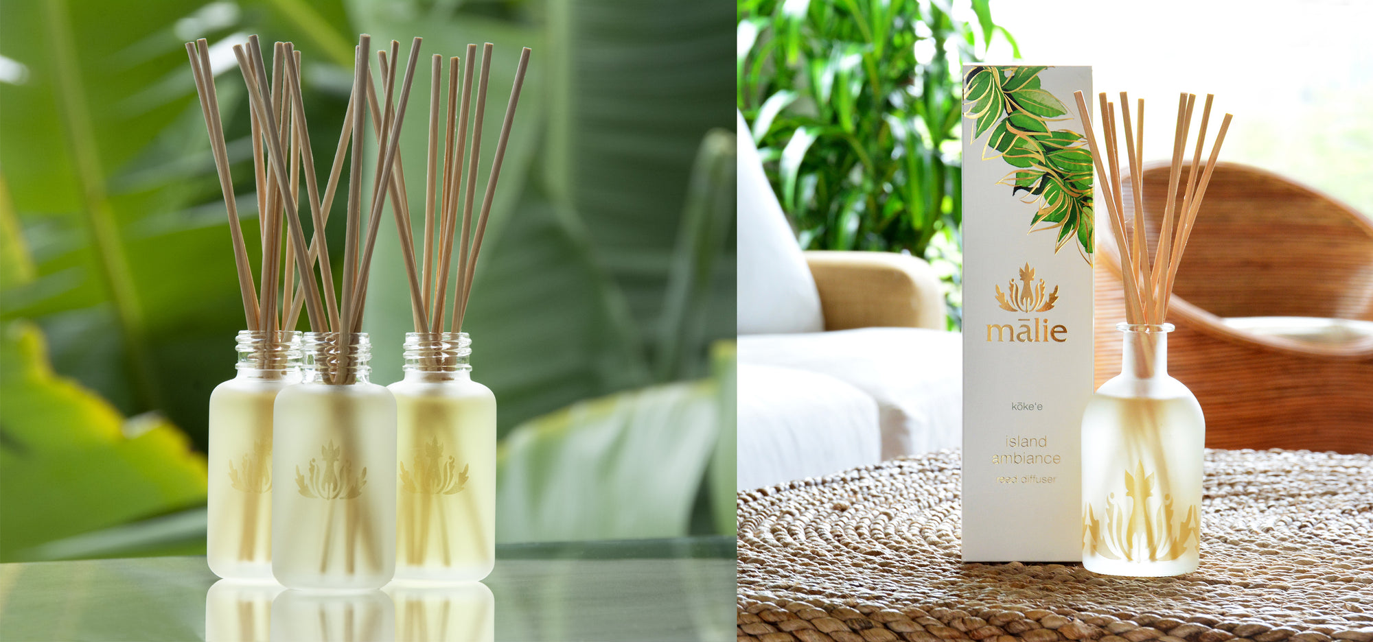 island ambiance reed diffuser