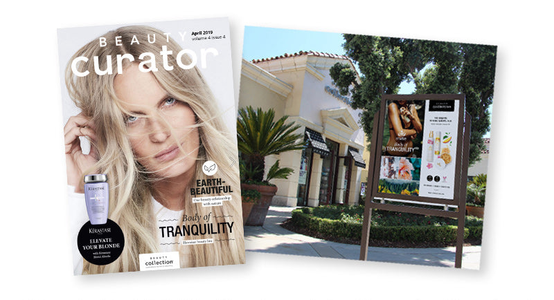 Malie Featured in Beauty Curator - LA's prestigious beauty store