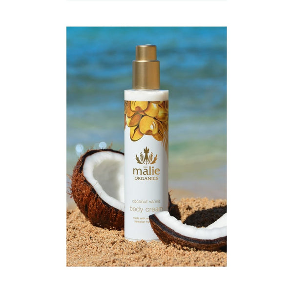 coconut vanilla body cream - Body