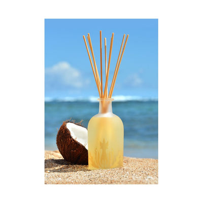 coconut vanilla island ambiance reed diffuser - Home