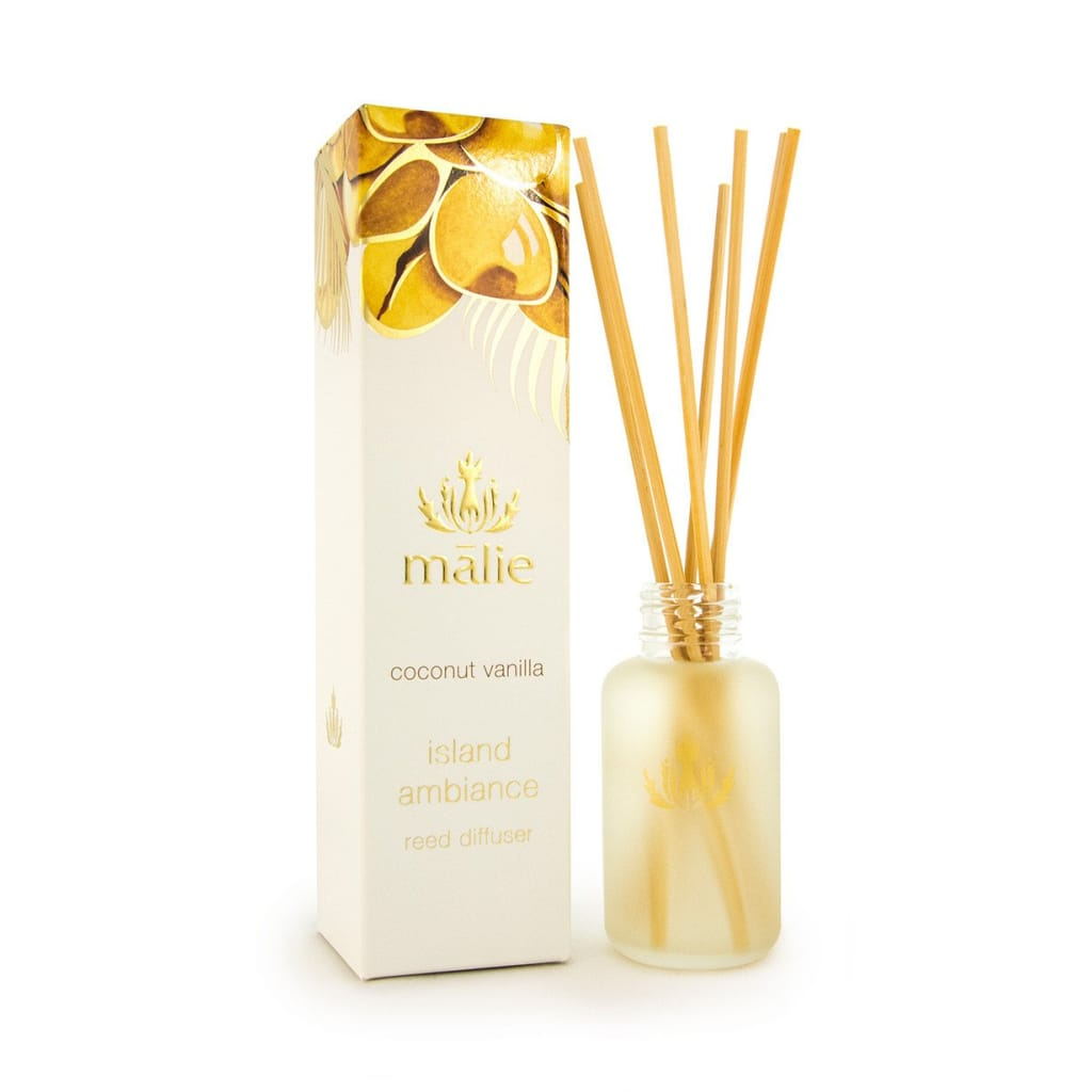 coconut vanilla island ambiance reed diffuser travel size - Home