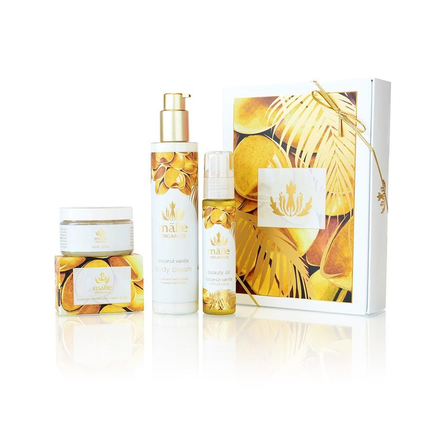 coconut vanilla luxe spa box - Body
