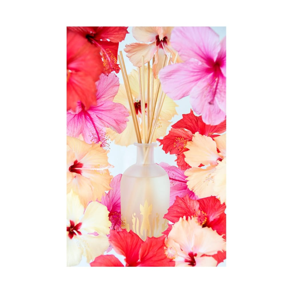 hibiscus island ambiance reed diffuser - Home