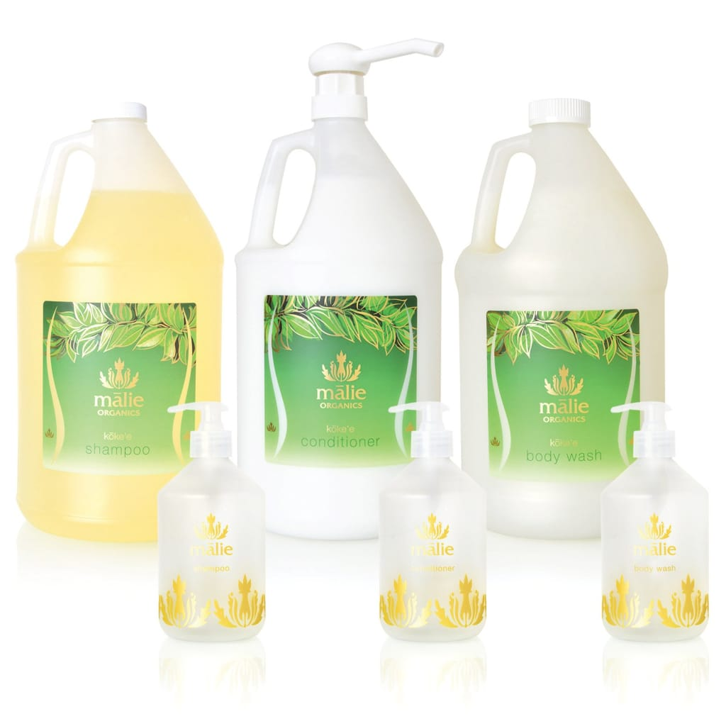 koke'e eco-refill shower set - Body