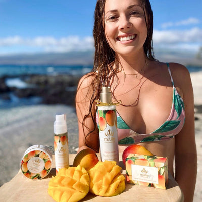 mango nectar luxe spa box - Body