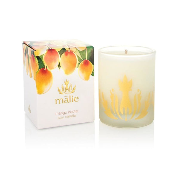 mango nectar soy candle - Home