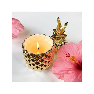 pineapple soy candle - Home