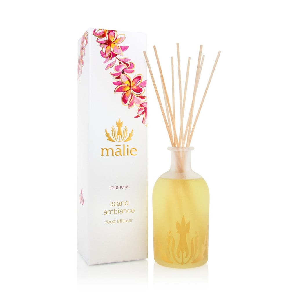 plumeria island ambiance reed diffuser - Home