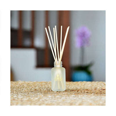plumeria island ambiance reed diffuser travel size - Home
