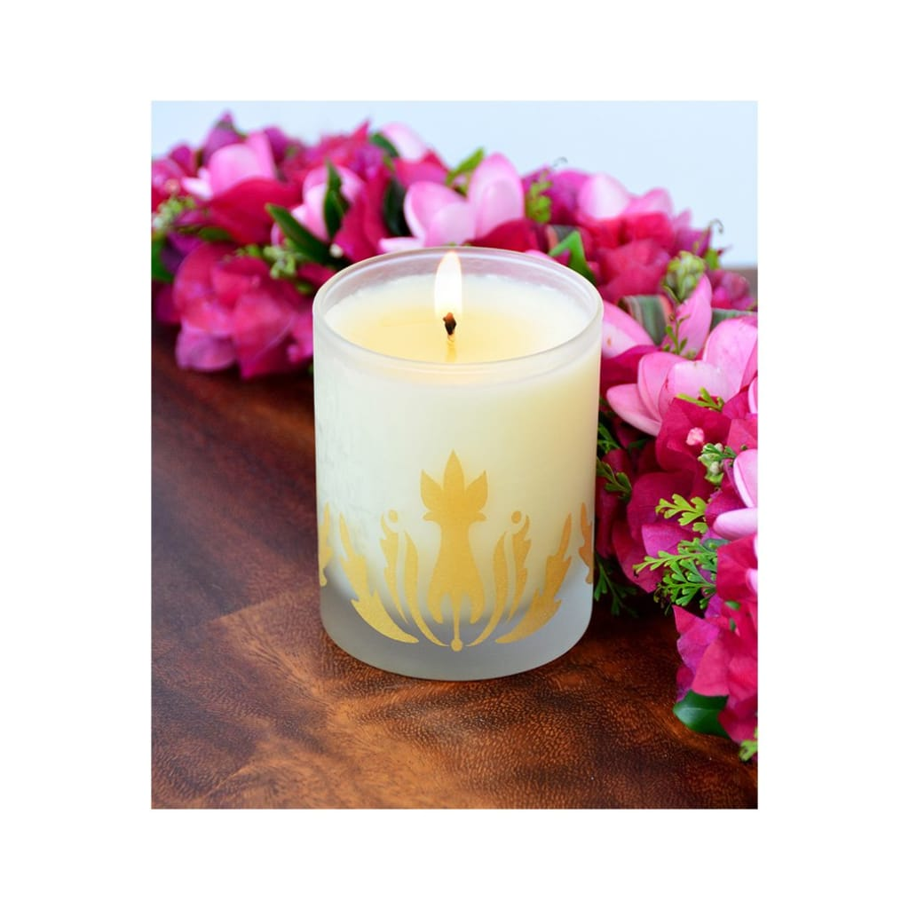 plumeria soy candle - Home