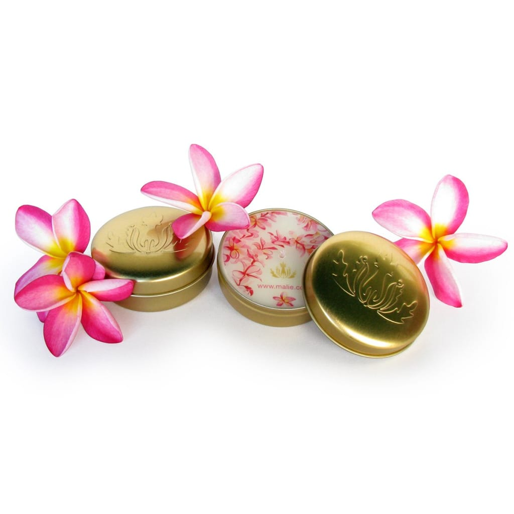 plumeria soy candle travel size - Home