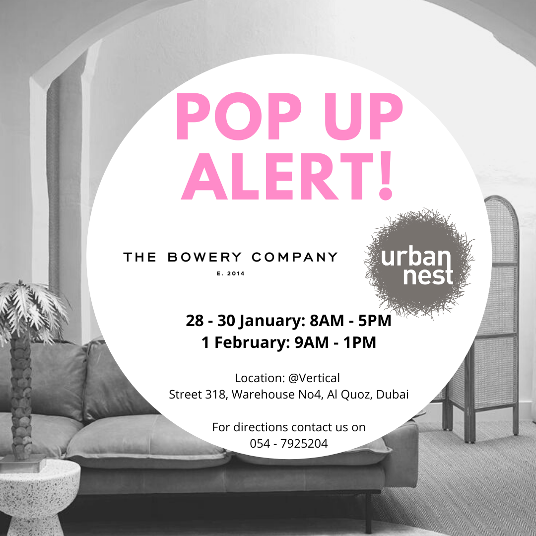 28 Jan - 1 Feb: Pop up with the Bowery Company