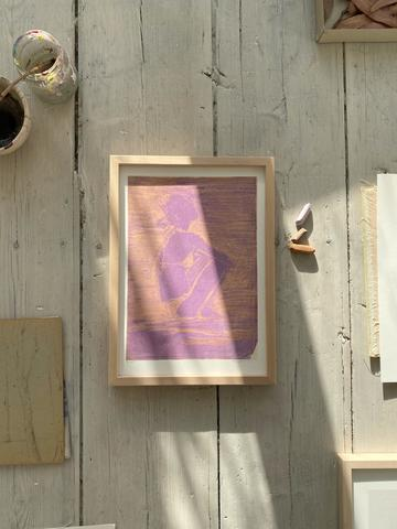 Tiny stories, Fine art print LILAC BREEZE