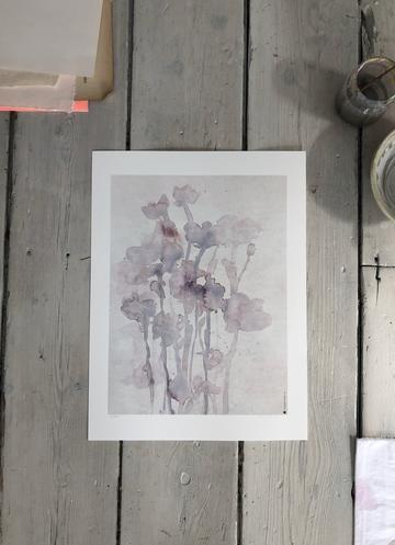 Tiny stories, Fine art print MOON FLOWERS