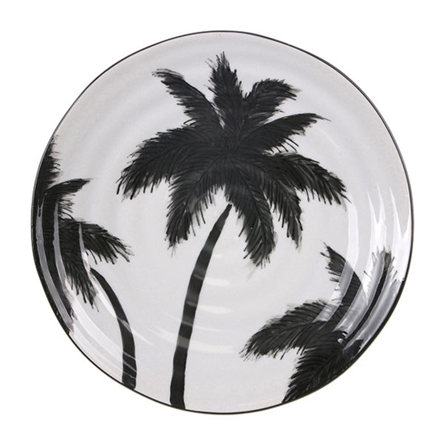 Jungle porcelain serving plate