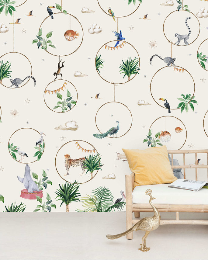Wallpaper Mural - Hula Hoop