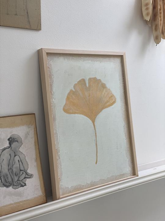 Tiny stories, Limited edition fine artprint: GINGKO-BILOBA