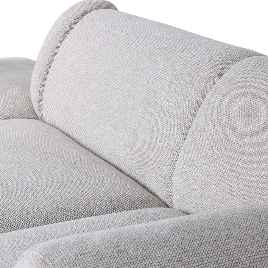 jax couch: element right, sneak, light grey