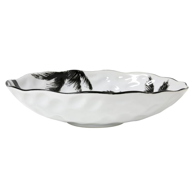 Jungle porcelain serving bowl