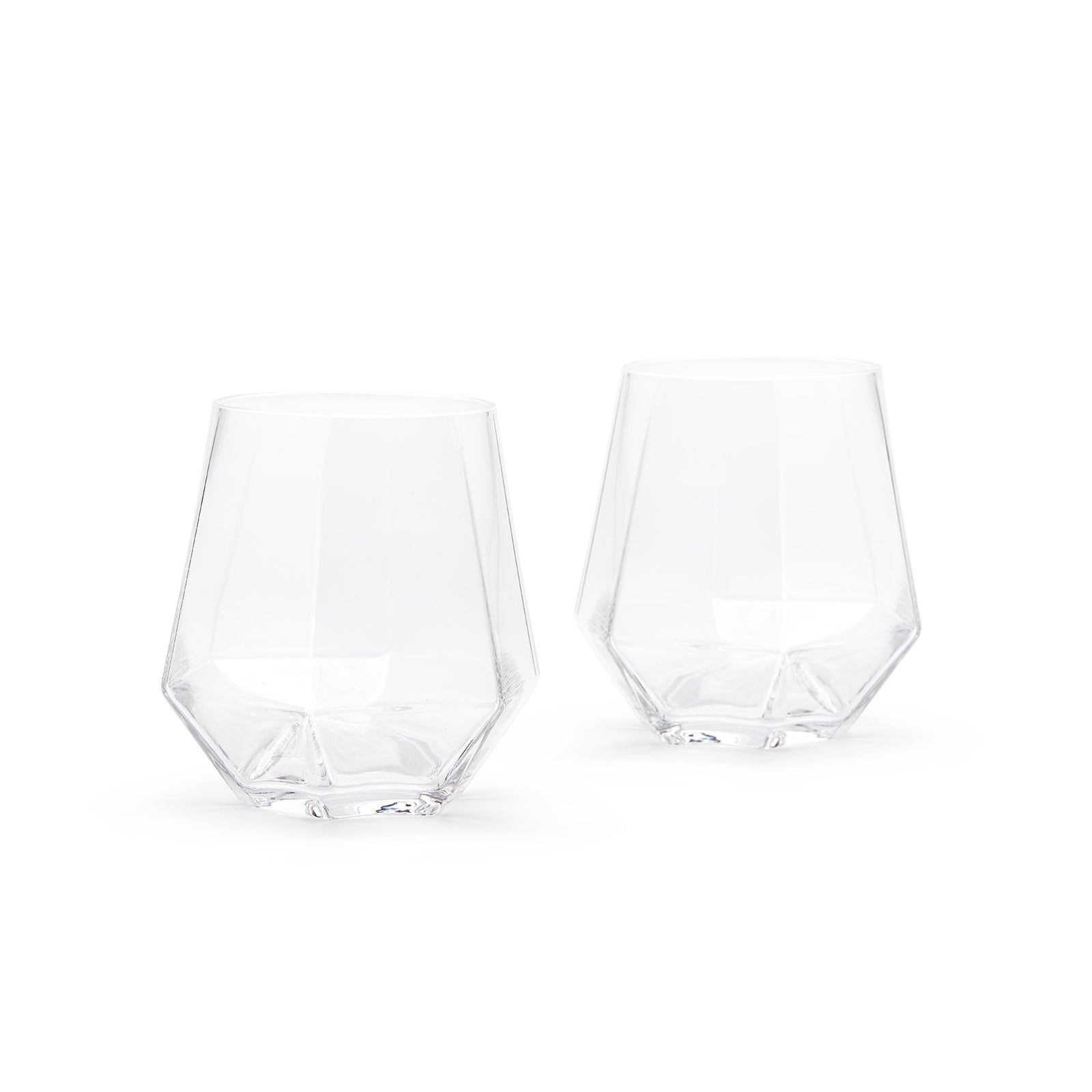 Radient crystal glasses (set of 2)
