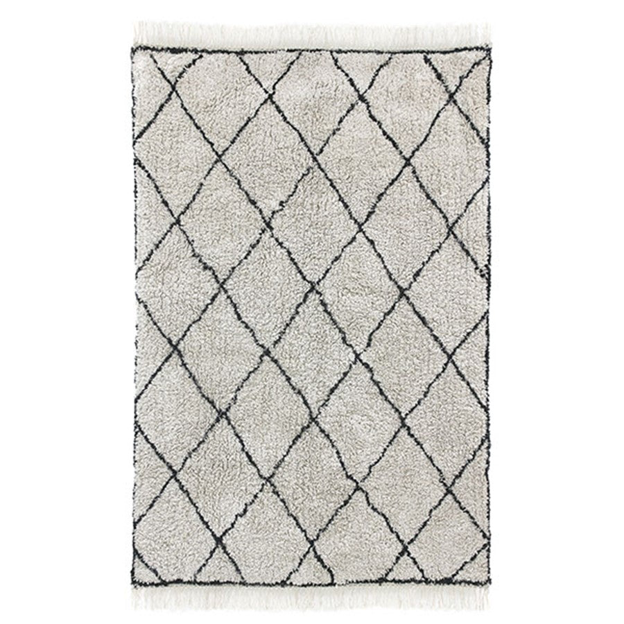 *NEW* Cotton diamond rug