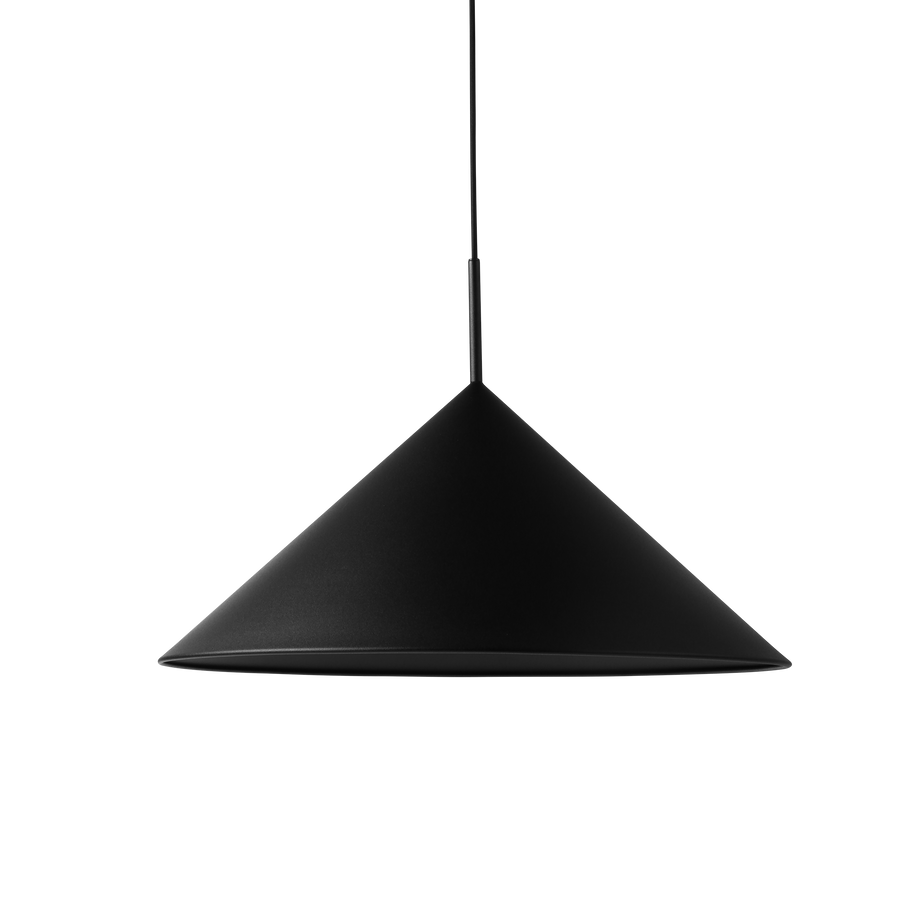 Metal triangle pendant lamp L
