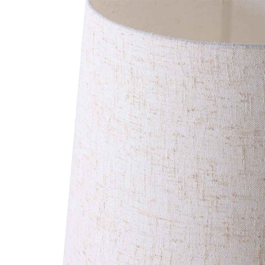 *NEW* retro cone floor lamp xl cream