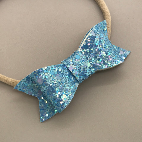 Madi Luxe Glitter Bow - Various Colours