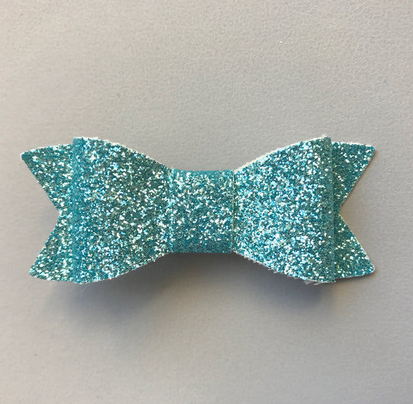 Madi Fine Glitter Bow - Various Colours