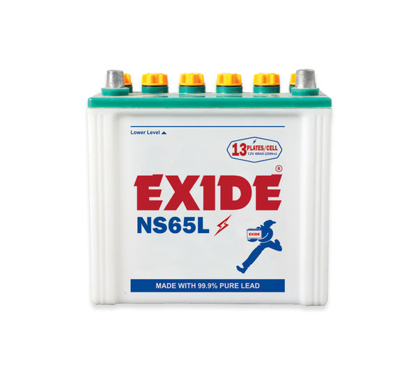 529f6ed773a Exide NS65. Exide NS65. Specifications Battery Type Lead Acid Light ...
