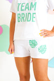 TEAM BRIDE TROPICAL PYJAMA SET