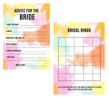 BRIDAL SHOWER / HEN / BACHELORETTE PARTY GAMES PACK