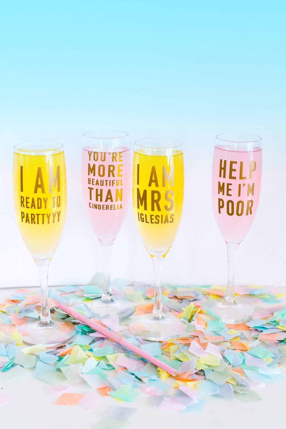 bridesmaids film quote stickers pack of bespoke bride