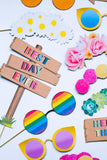 FESTIVAL THEMED PHOTO BOOTH PROPS PACK PRINTABLES