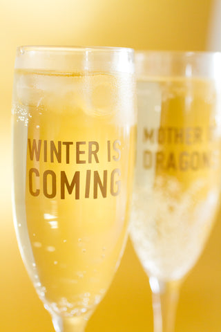 GAME OF THRONES QUOTE STICKERS (Pack of 10, Champagne Size)
