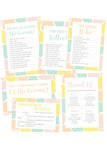 GROOM & GROOM EDITION ENGAGEMENT PARTY / WEDDING GAMES PACK