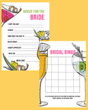 BRIDAL SHOWER / HEN / BACHELORETTE PARTY COCKTAIL THEMED GAMES PACK