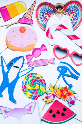 KATY PERRY PHOTO BOOTH PROPS PACK PRINTABLES